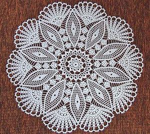 Какие нитки выбрать для вязания салфеток