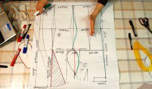 sdelat_vykroyku Как правильно сделать выкройку платья: пошаговое построение основы для новичков