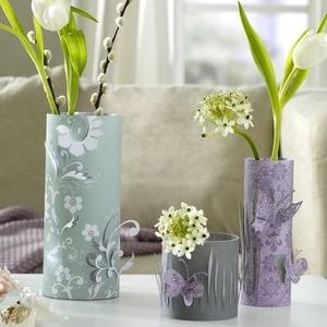dekor_vazy_mankoy Декор вазы своими руками - фото самых красивых вариантов дизайна