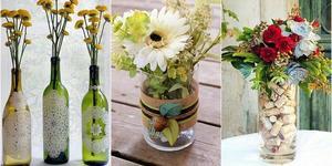 Украшение вазы своими руками
