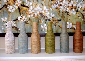 dekor_vazy_svoimi_rukami Декор вазы своими руками - фото самых красивых вариантов дизайна