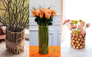 rospis_vitrazhnymi_kraskami Декор вазы своими руками, декорирование высоких напольных ваз для цветов, как украсить стеклянную вазу, декор из кожи, веток