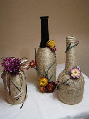 rospis_uzorami Декор вазы своими руками - фото самых красивых вариантов дизайна