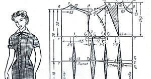 sdelat_vykroyku_osnovu_nachinayuschih Как правильно сделать выкройку платья: пошаговое построение основы для новичков