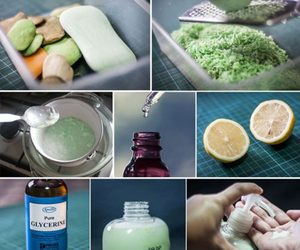 Рецепт для мытья посуды