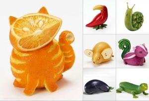 Дары осени поделки из овощей и фруктов