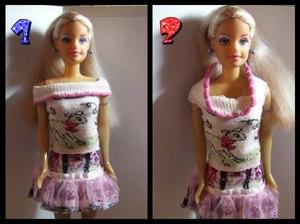 Безрукавки и юбки для кукол
