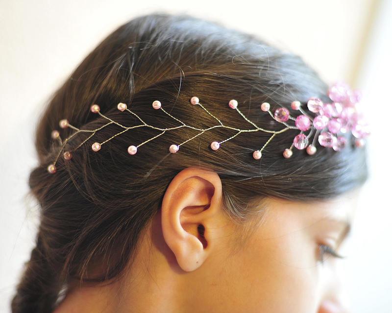 Украшения для волос из бисера своими руками