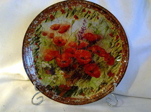 obratnyy_dekupazh_tarelki Декупаж тарелки своими руками - мастер-класс с фото