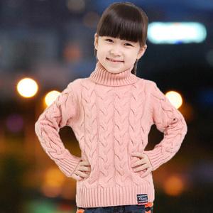 Стильный пуловер для девочки