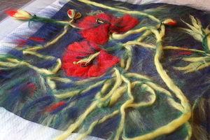 master-klassy_nunofeltingu Фелтинг – валяние шерстью для начинающих: мастер-класс. Валяние из шерсти игрушек, картины фелтингом
