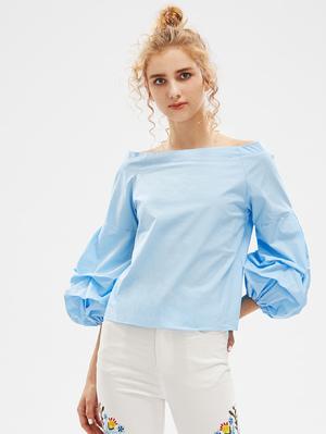350405efcb8 Как сшить своими руками блузку с рукавом фонарик для девочки