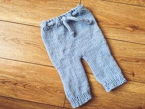 как связать детские штанишки спицами советы для начинающих