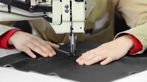 Процесс пошива изделия