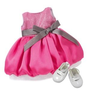 Праздничное платье для куклы