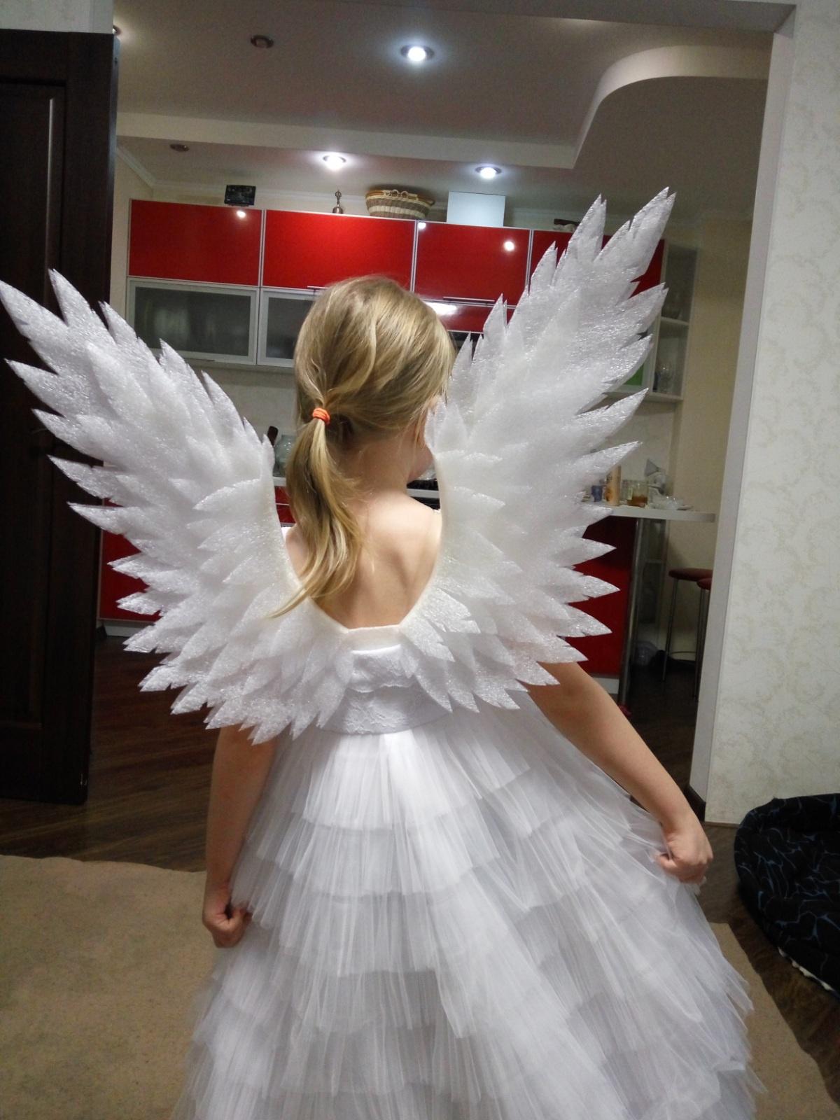 Как сделать крылья для фото