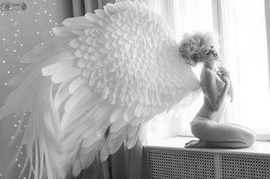 Как сделать ангела своими руками
