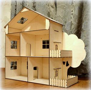 Построение основы для кукольного домика