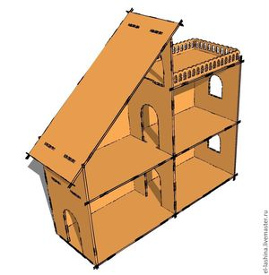 Постройка кукольного домика