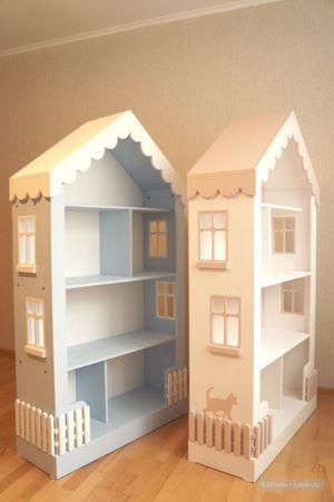 Покраска кукольного дома
