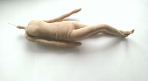 Тело каркасной куклы