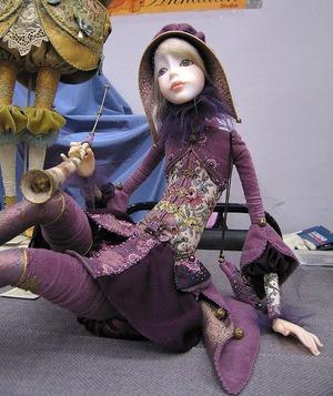 Кукла из паперклея