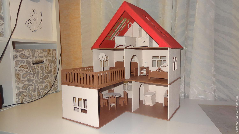 Кукольный домик из дерева своими руками фото и чертежи